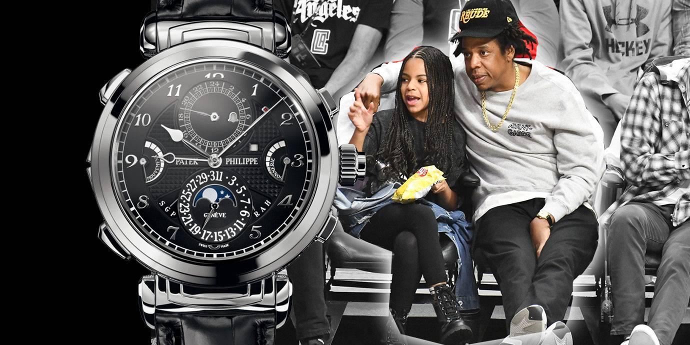NBA洛城內戰場邊最大咖:饒舌歌手Jay-Z的殿堂級鐘錶收藏
