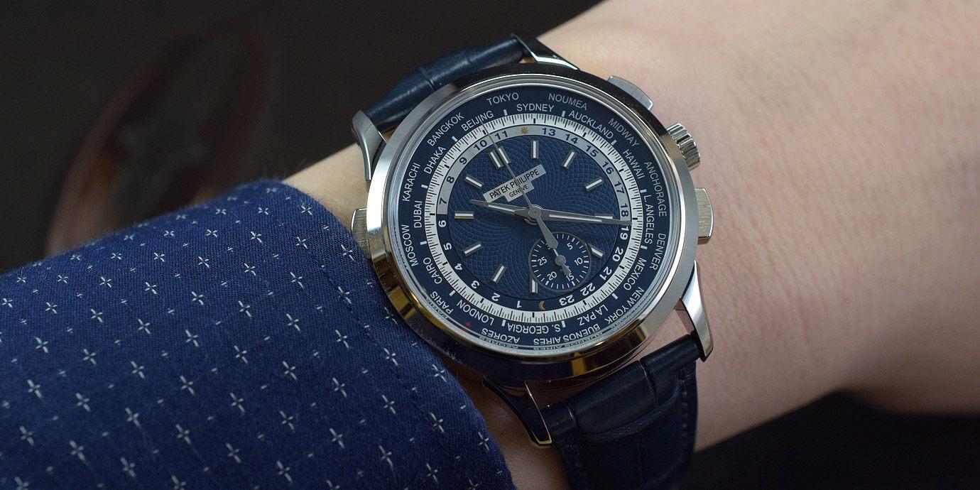 【每週一錶】環遊世界計時趣:百達翡麗5930G-010腕錶
