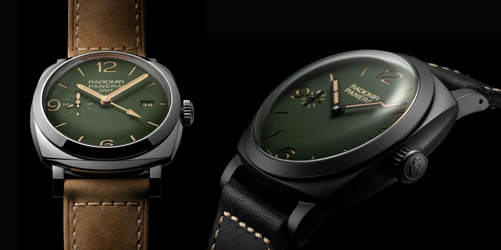 軍用色彩強悍登場:沛納海Radiomir系列綠面腕錶
