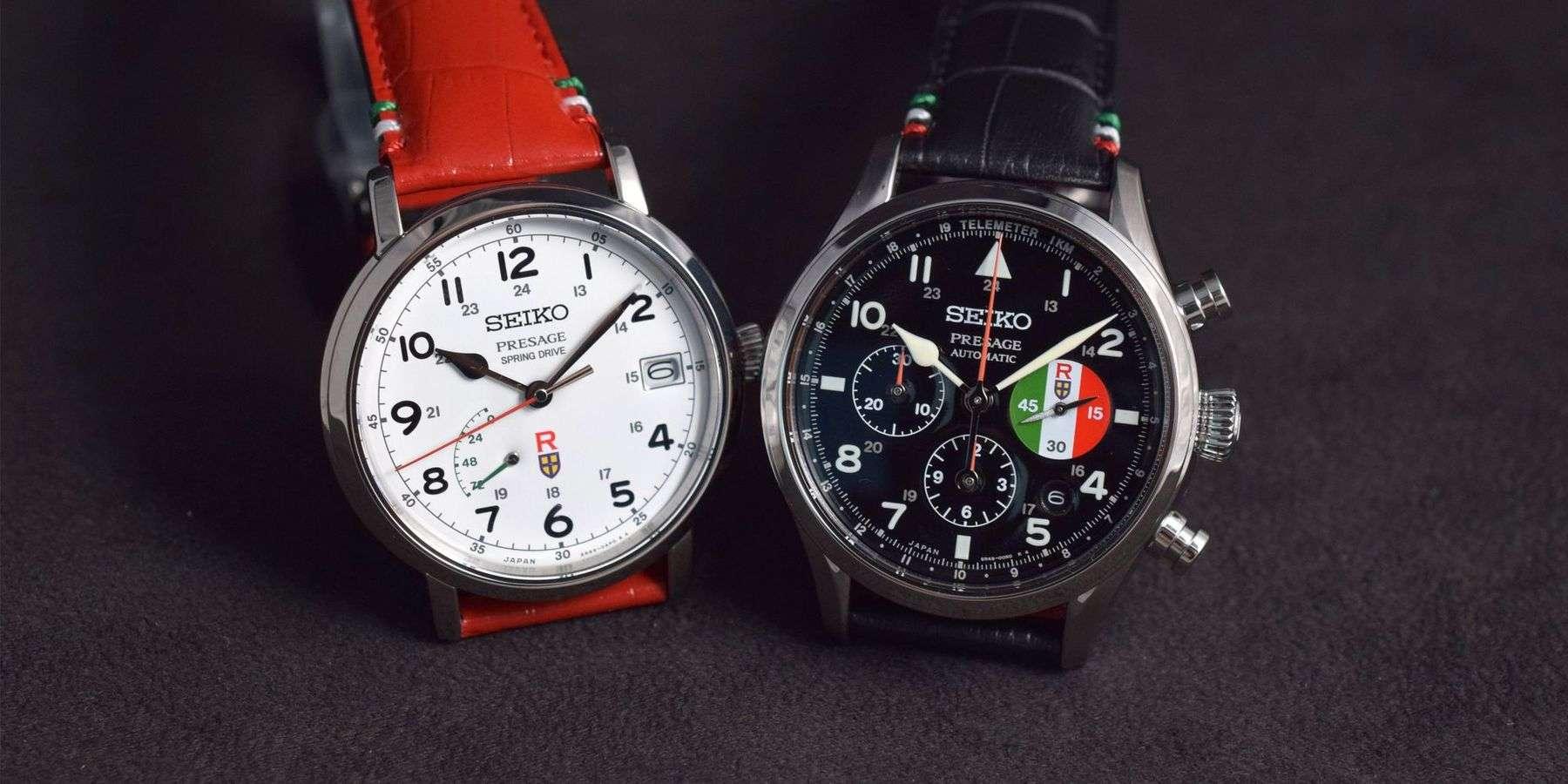 經典聯名:Seiko Presage吉卜力工作室《紅豬》聯名限量版腕錶