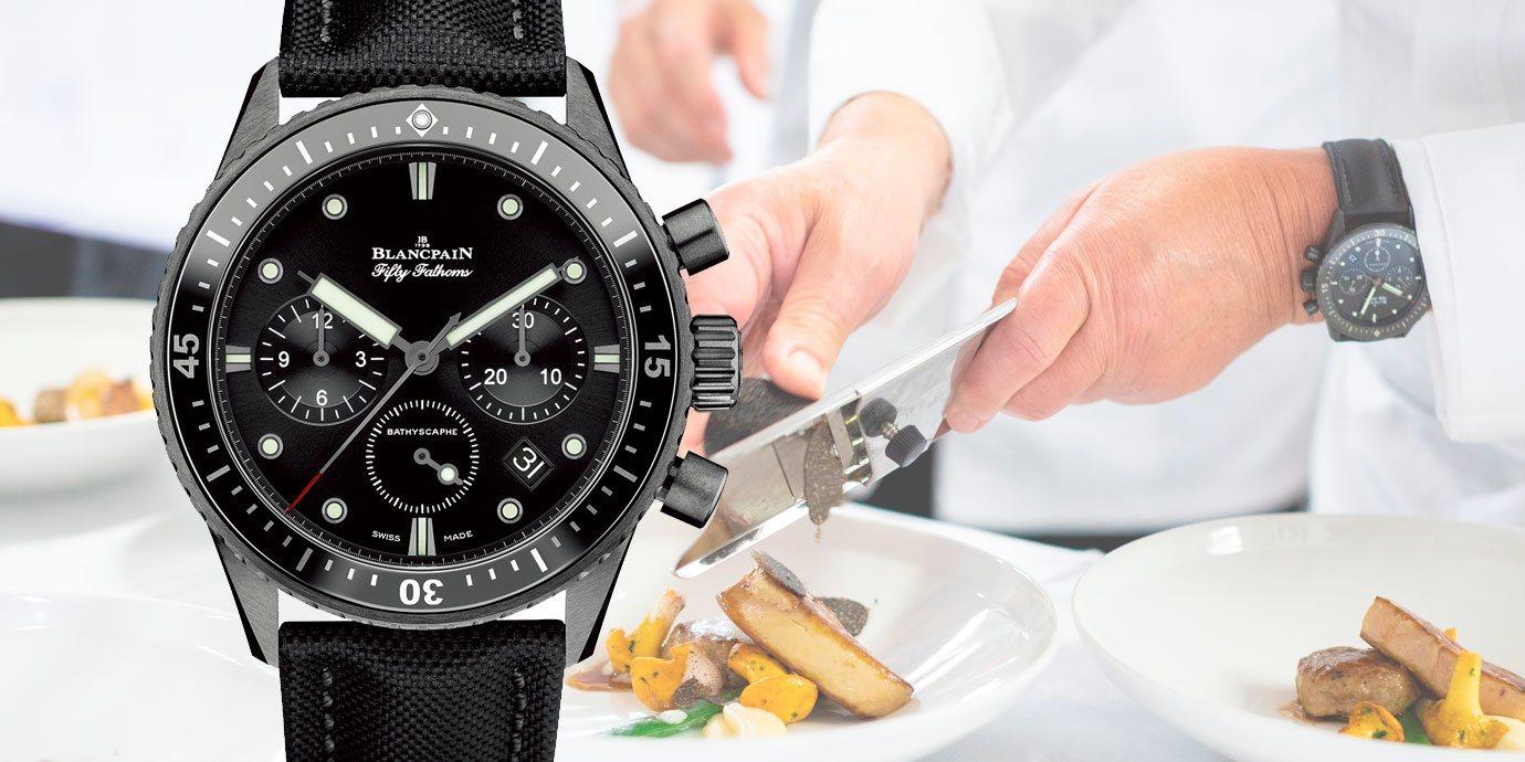 聯手美食權威:Blancpain宣布與《米其林指南》結盟