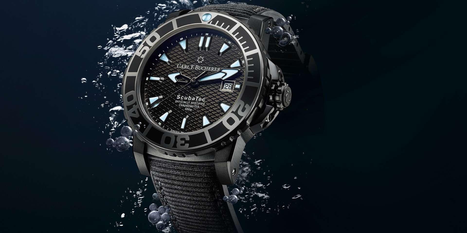 獻給不凡的冒險家:寶齊萊全新柏拉維深潛腕錶碳黑版Patravi ScubaTec Black