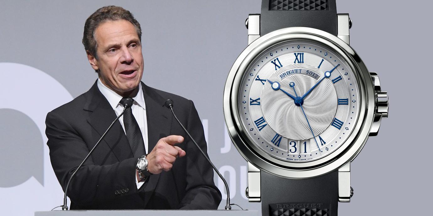 抗「疫」先鋒:紐約州長Cuomo與衛福部長陳時中的腕上亮點