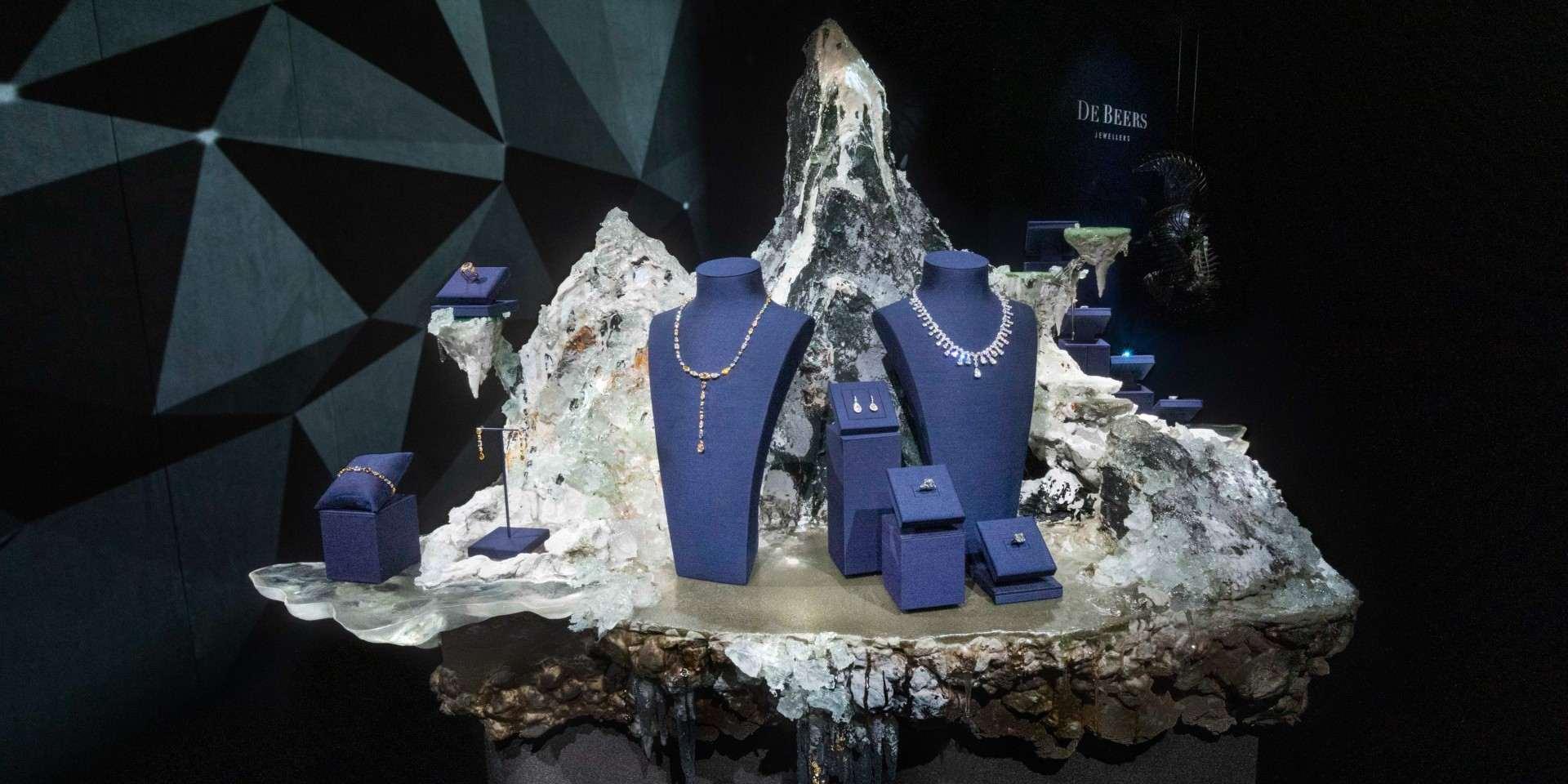 頌讚幻美自然奇蹟:De Beers Nature's Wonders 頂級珠寶展即日起至 5 月 10 日止