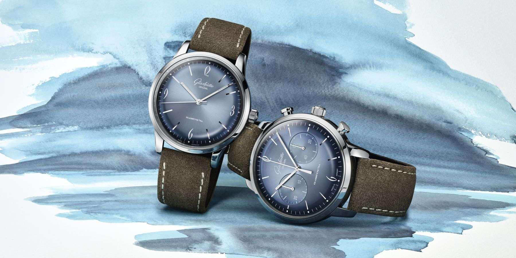 冰川上手!Glashütte Original全新Sixties腕錶