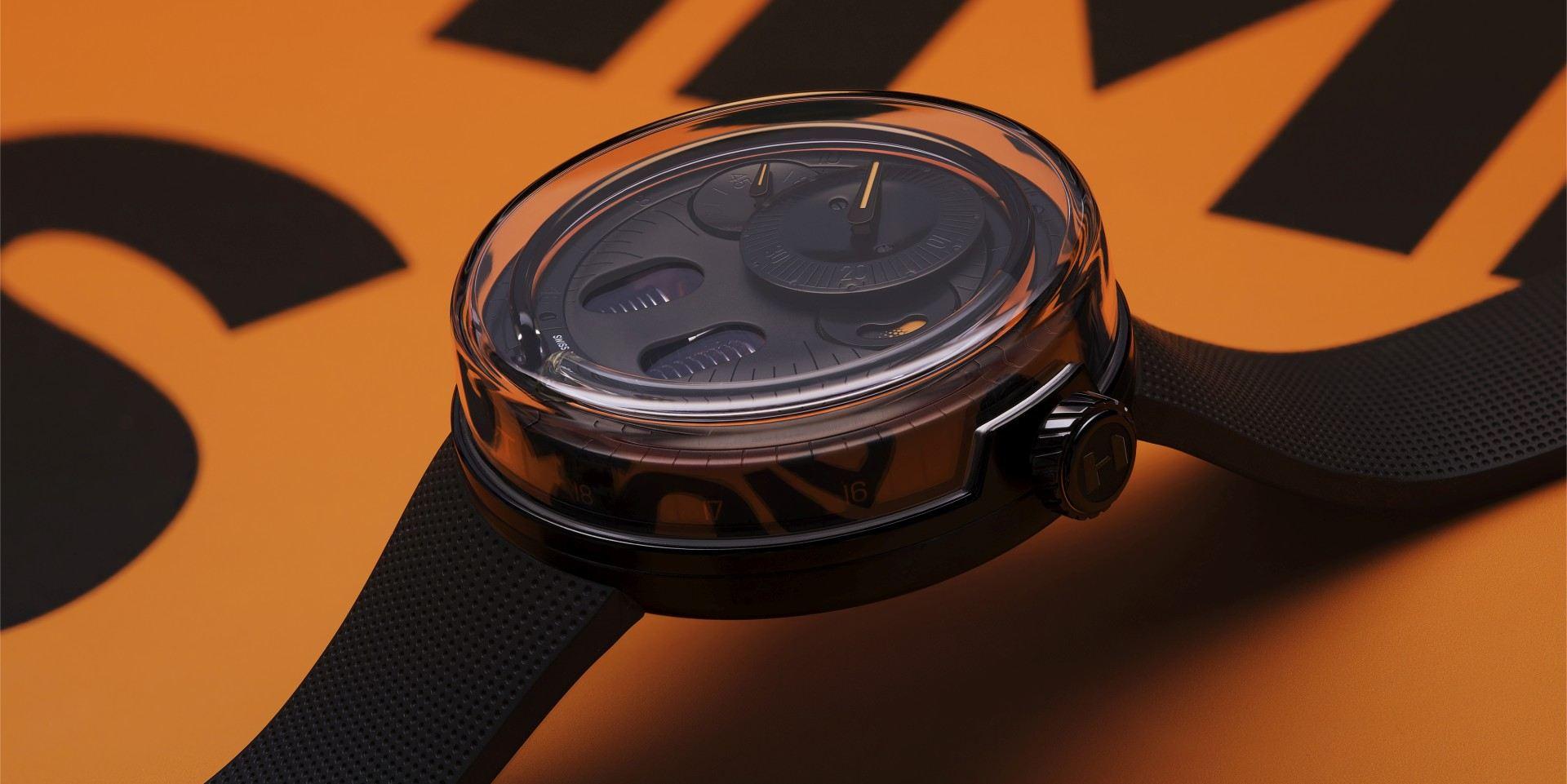 生生不息的純粹獨特:HYT H0 Black Fluid腕錶