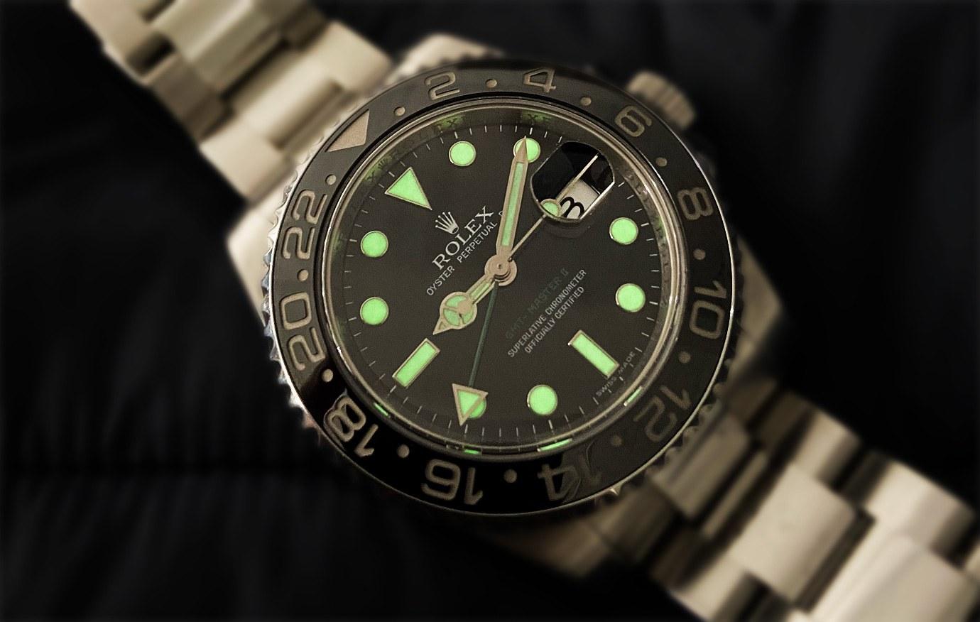 黑暗中的魅力:鐘錶夜光進化史