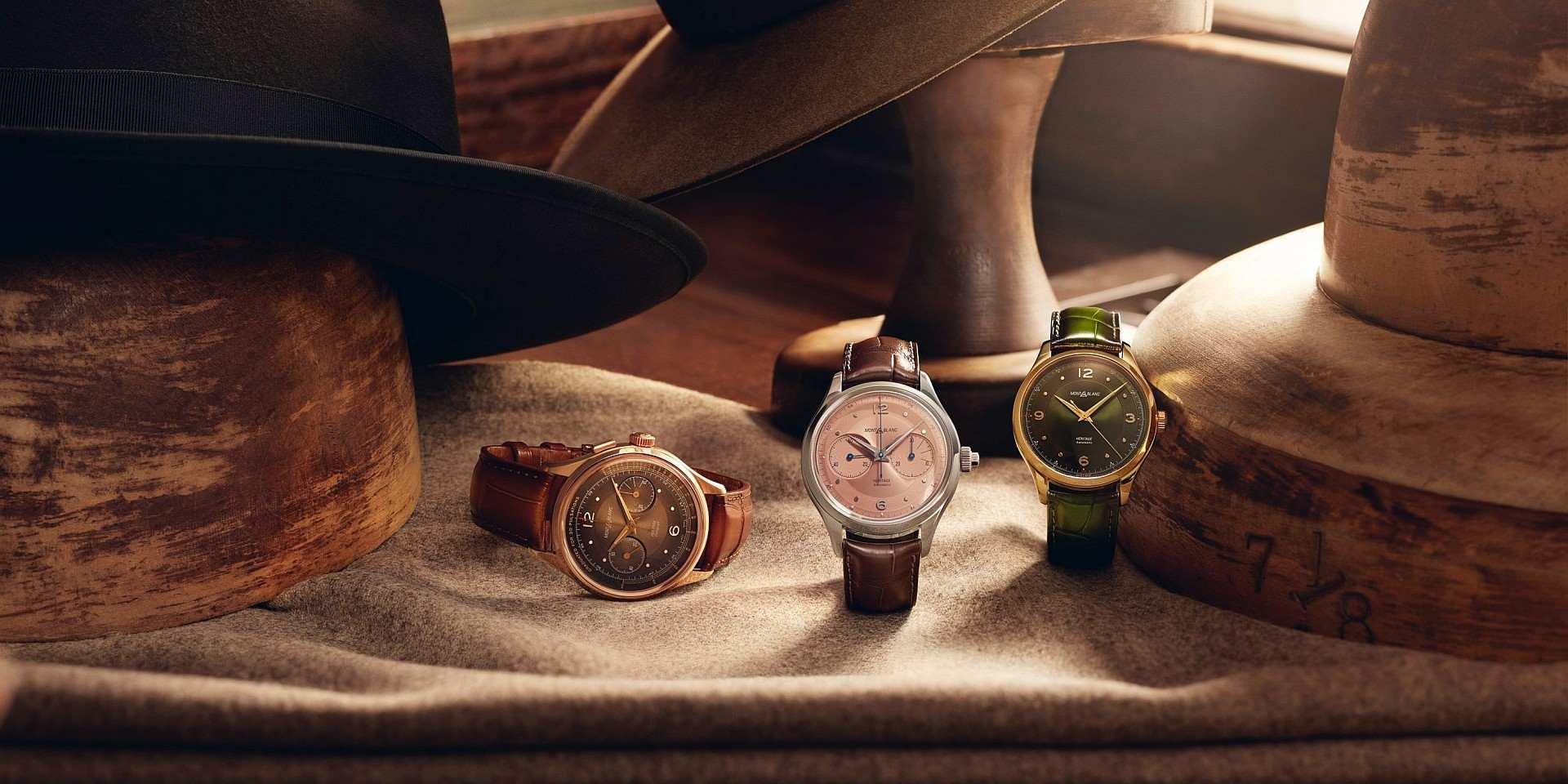 【2020線上錶展】復古美學魅力獨具:全新萬寶龍傳承系列三款新作,靈感源自40、50年代Minerva經典腕錶和neo-dandy風格