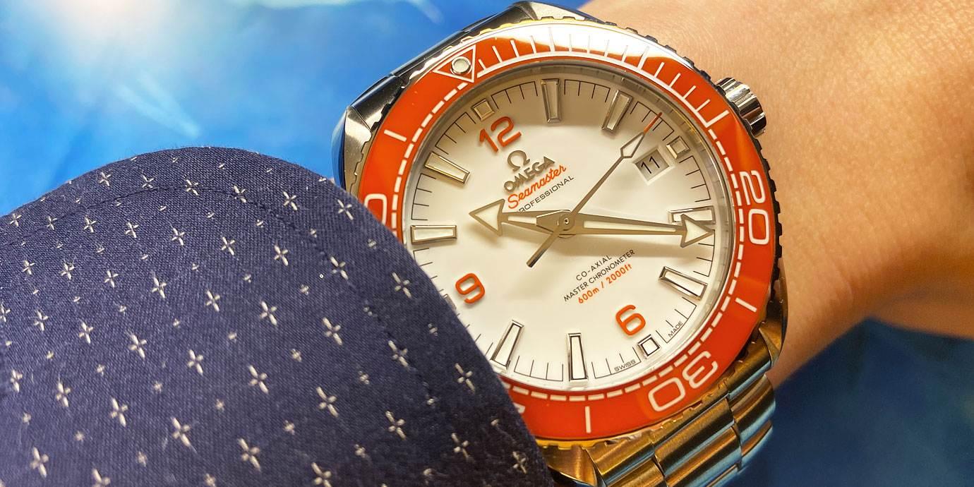 【每週一錶】好鮮豔的潛水錶:Omega Seamaster Planet Ocean 600