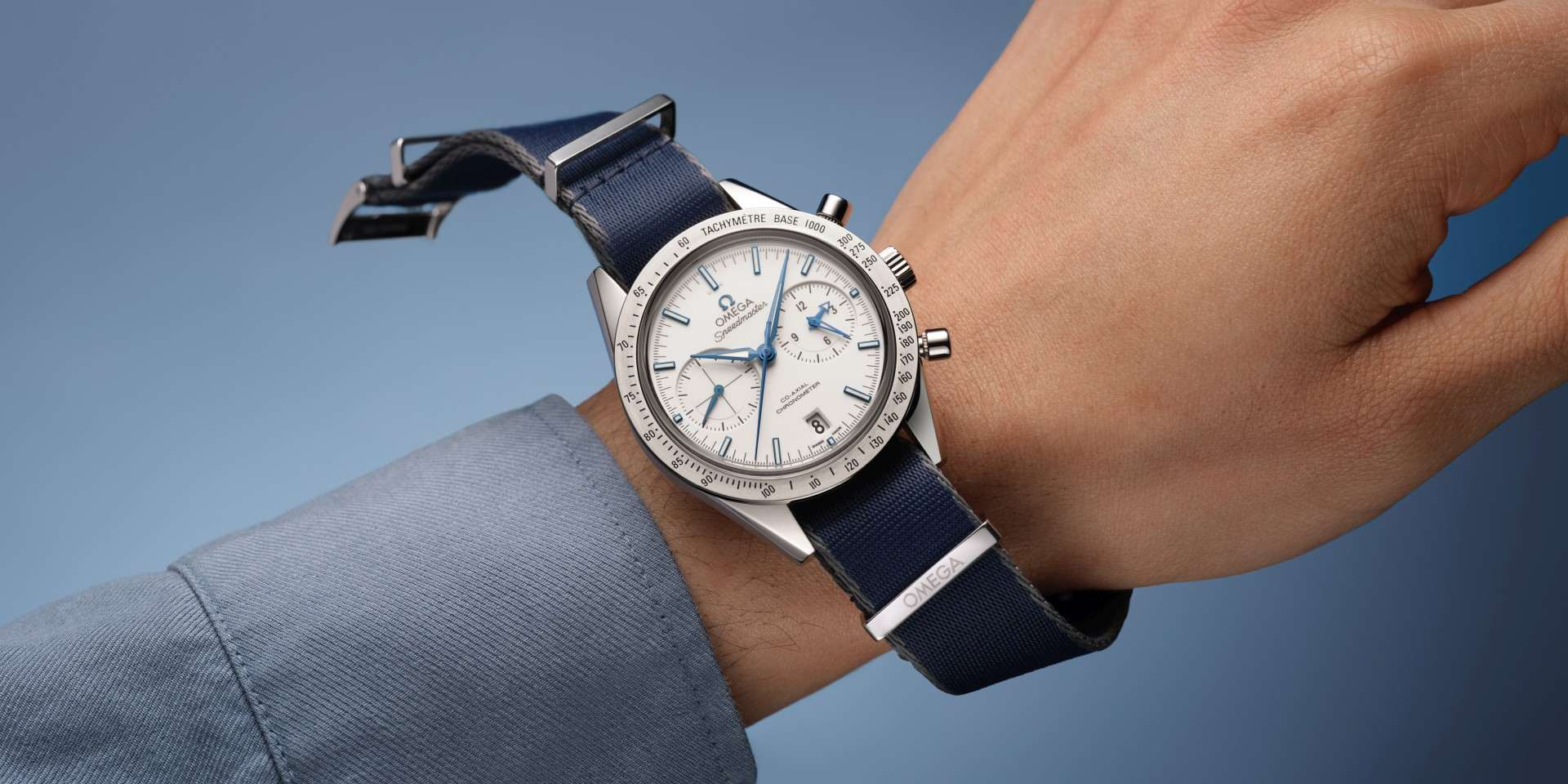 選配「NATO」錶帶,讓您的歐米茄腕錶更多彩
