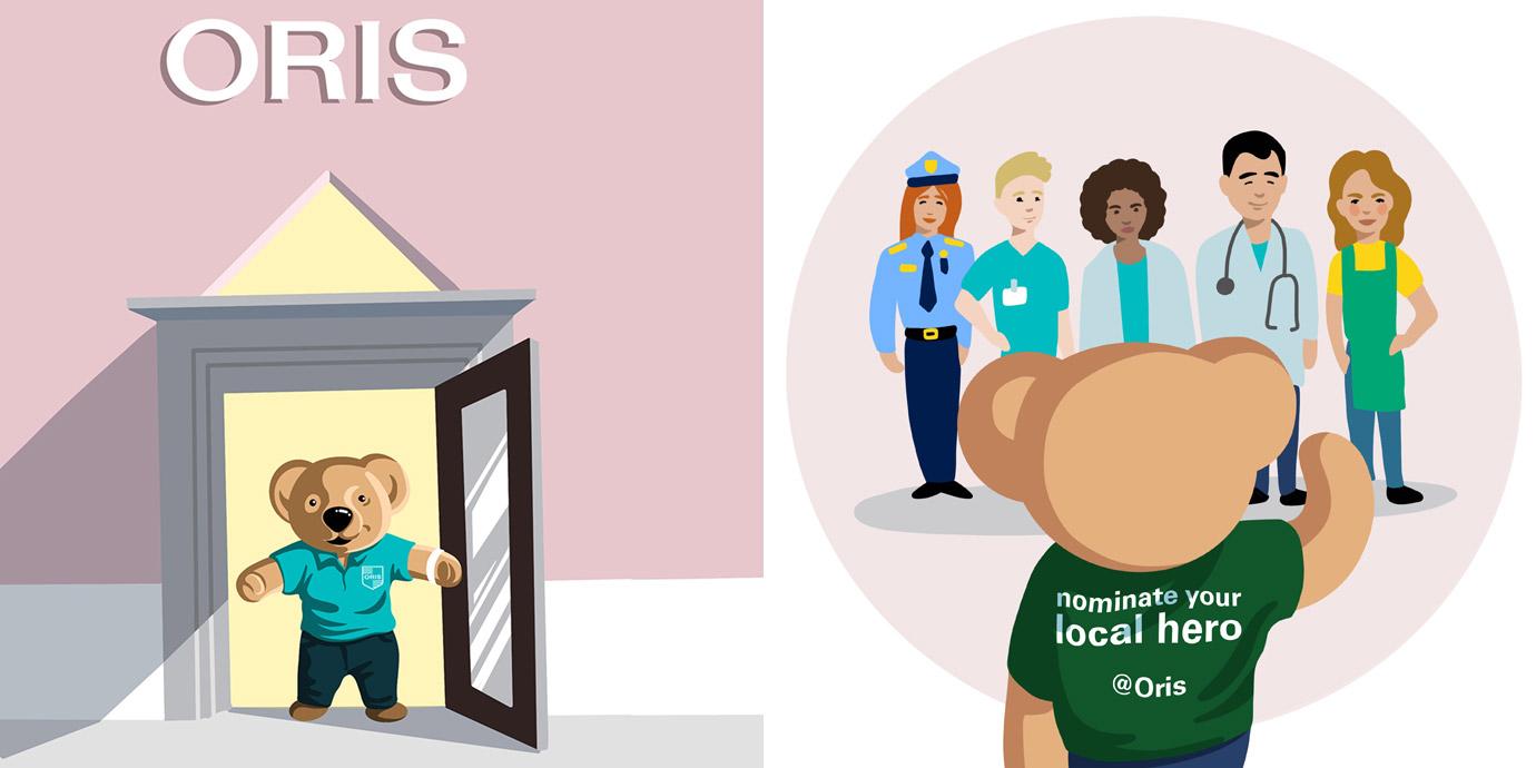 向抗疫英雄們致敬:Oris推出「Oris Local Heroes」網路活動