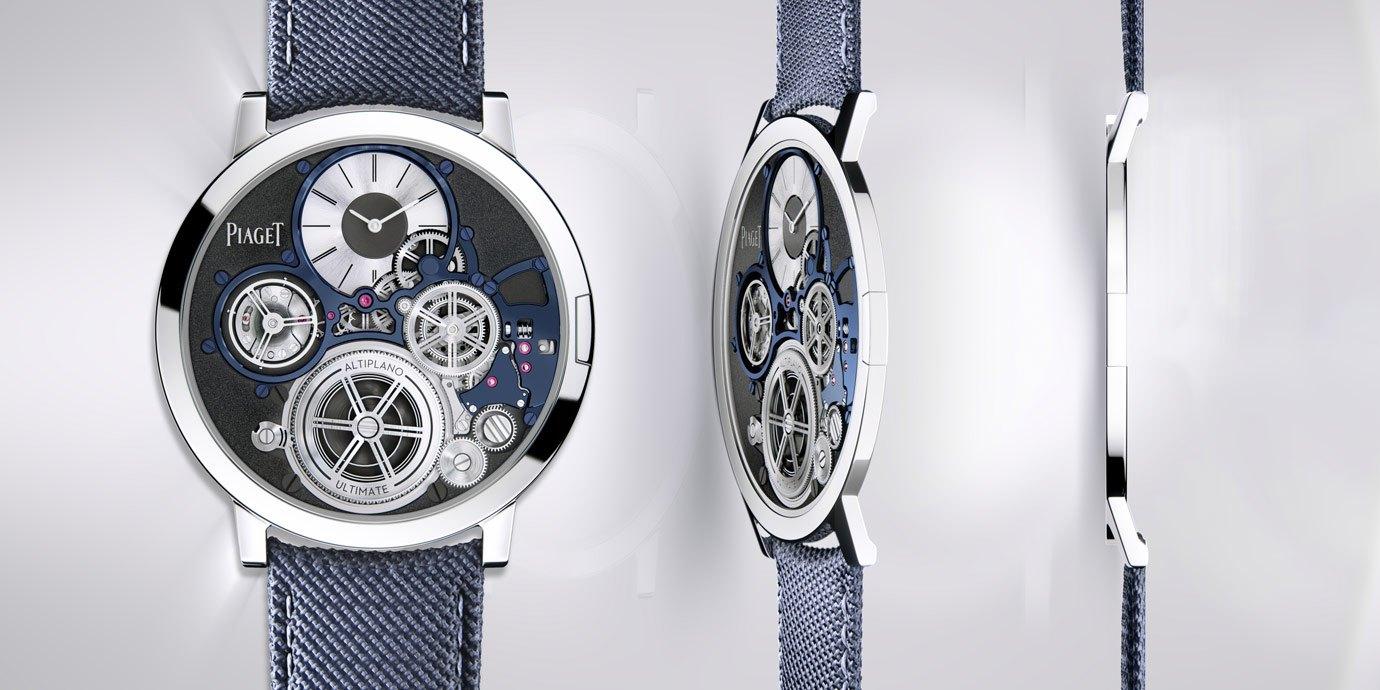 【2020線上錶展】史上最纖薄腕錶:Piaget Altiplano Ultimate Concept