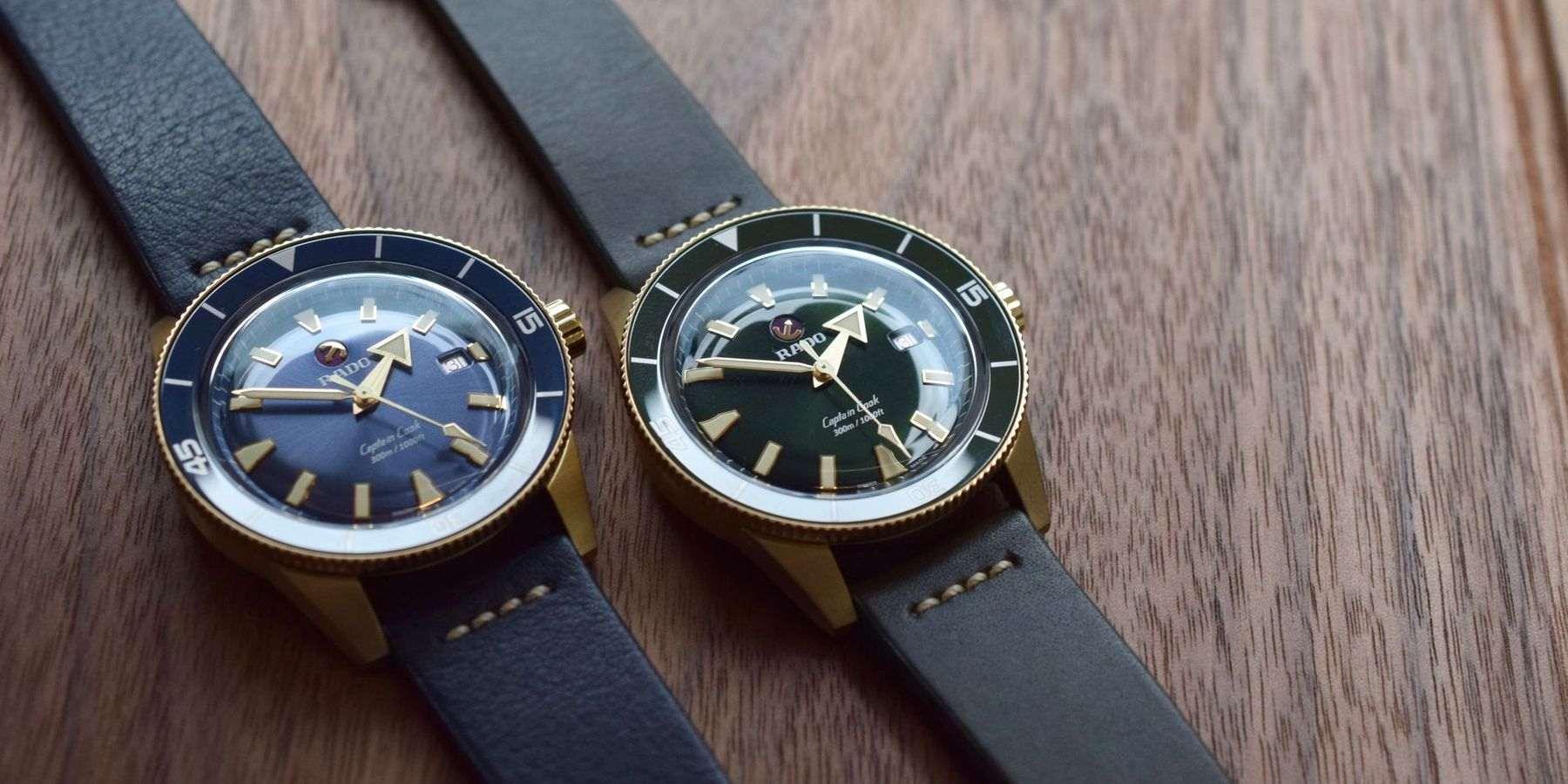 【2020線上錶展】Rado全新Captain Cook青銅腕錶