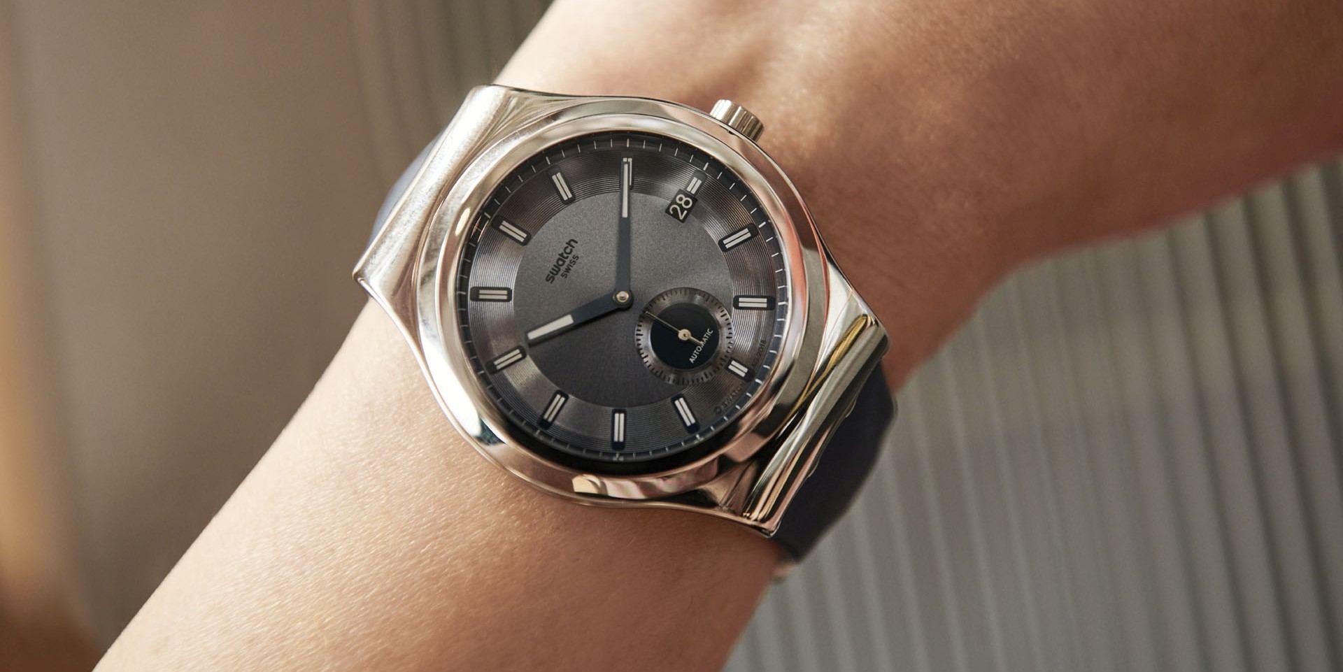抗磁性NIVACHRON™游絲機械錶新添生力軍:SWATCH 51號星球金屬元素腕錶小三針款式