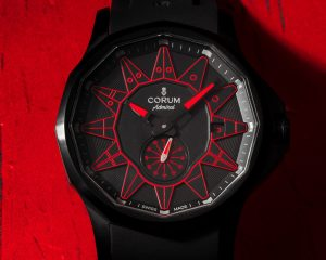 海軍上將換新衣:Corum Admiral 42 Automatic Full Black