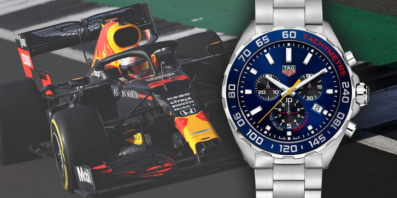 熱血合體:TAG Heuer Aston Martin紅牛F1車隊2020特別版腕錶