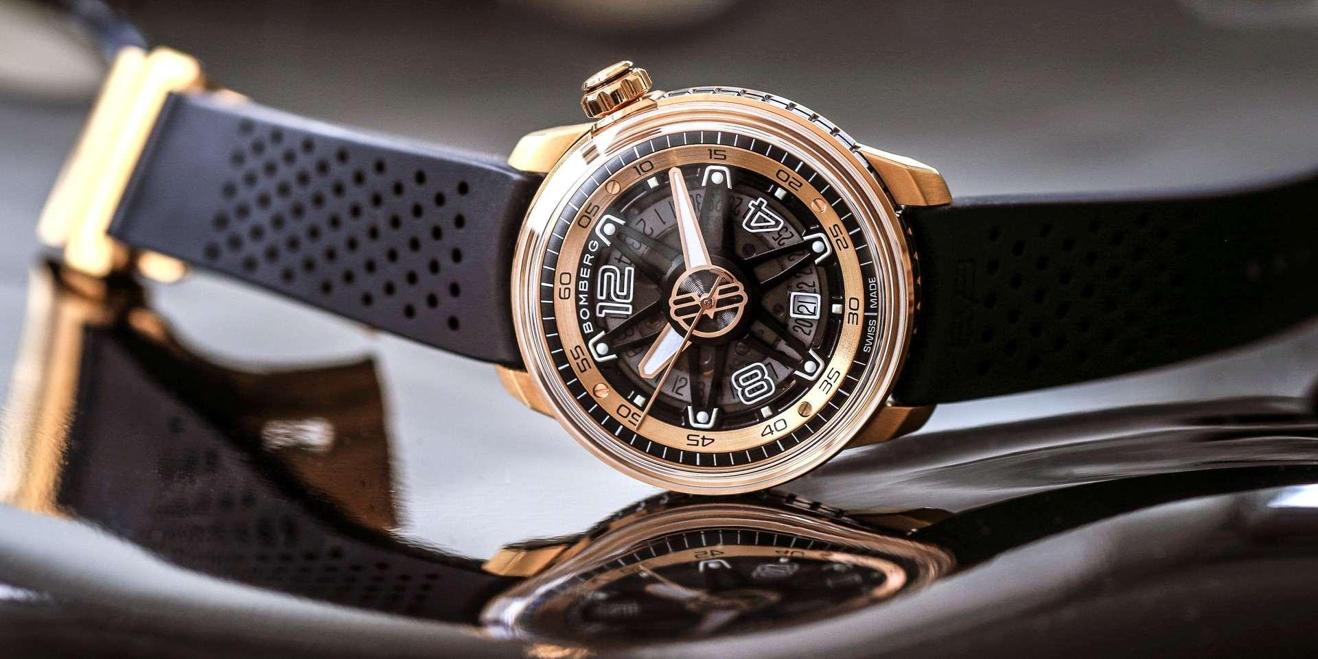 動感四溢又不失優雅的炸彈錶:BOMBERG BB-01 Automatic PVD玫瑰金腕錶