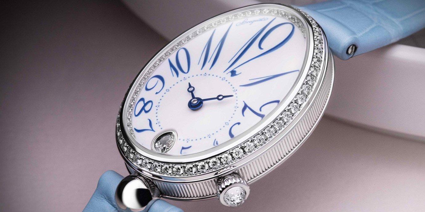 令女士傾心的經典之作:Breguet Reine de Naples 8918鑽錶