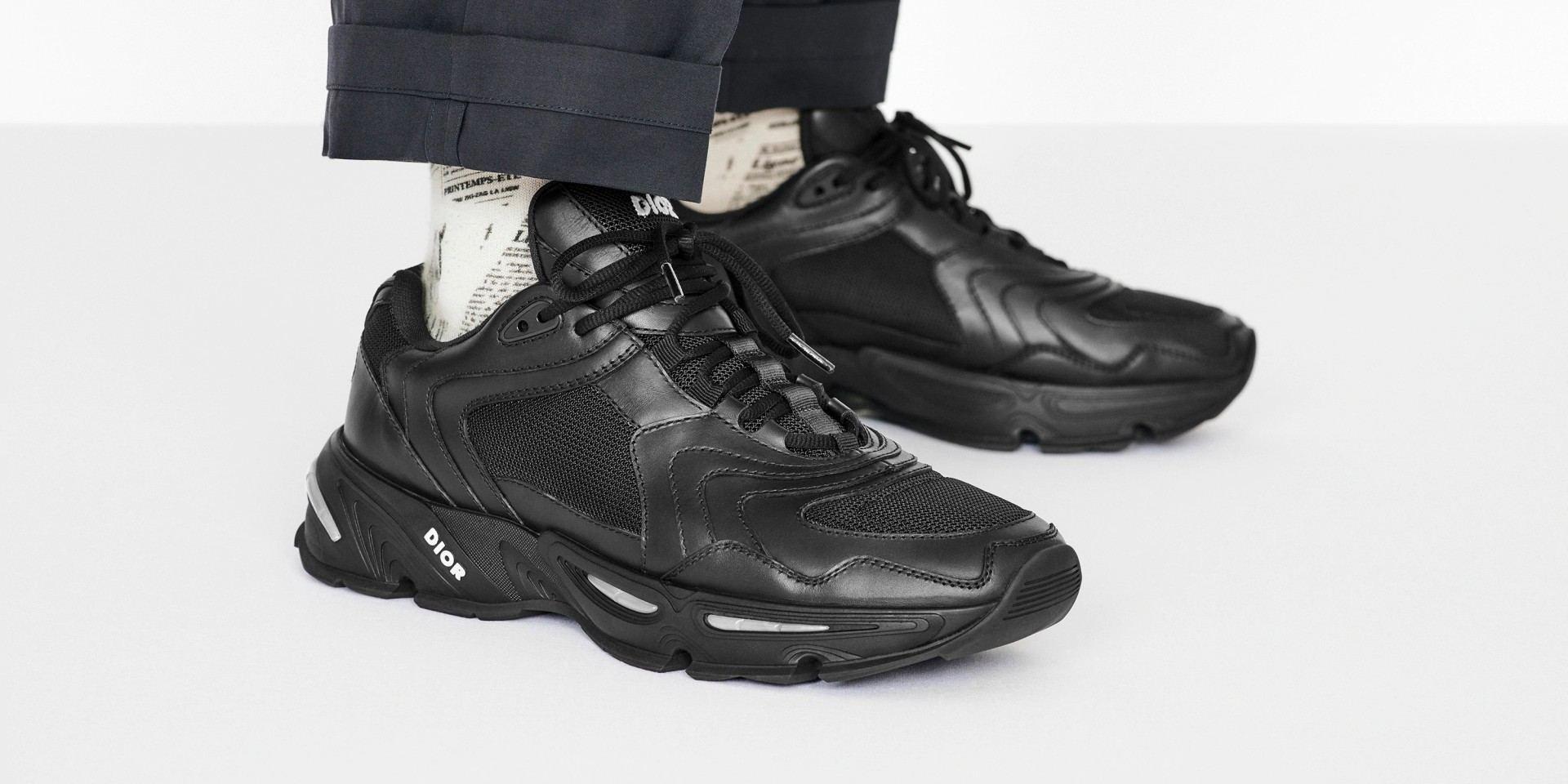 前衛浮雕線條打造時尚運動風潮:DIOR MEN 全新 CD1 運動鞋