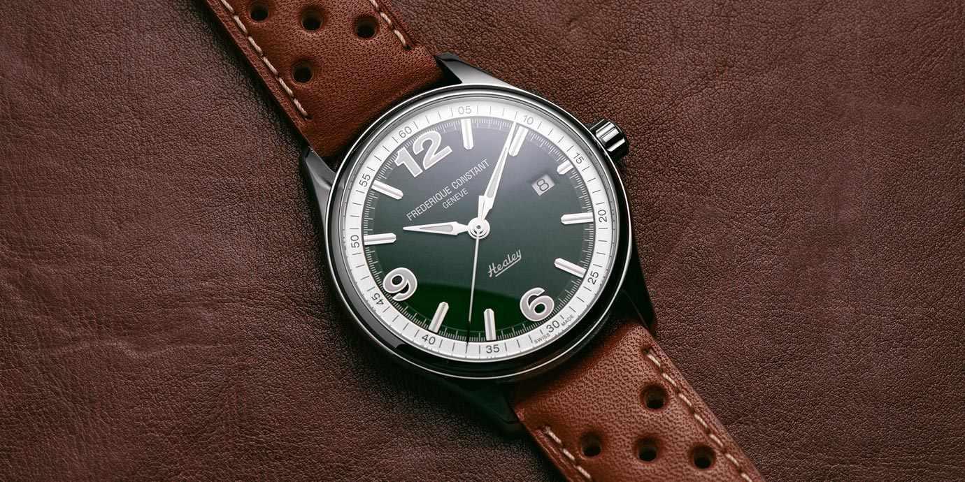 體驗古董車的浪漫:康斯登Vintage Rally Healey腕錶