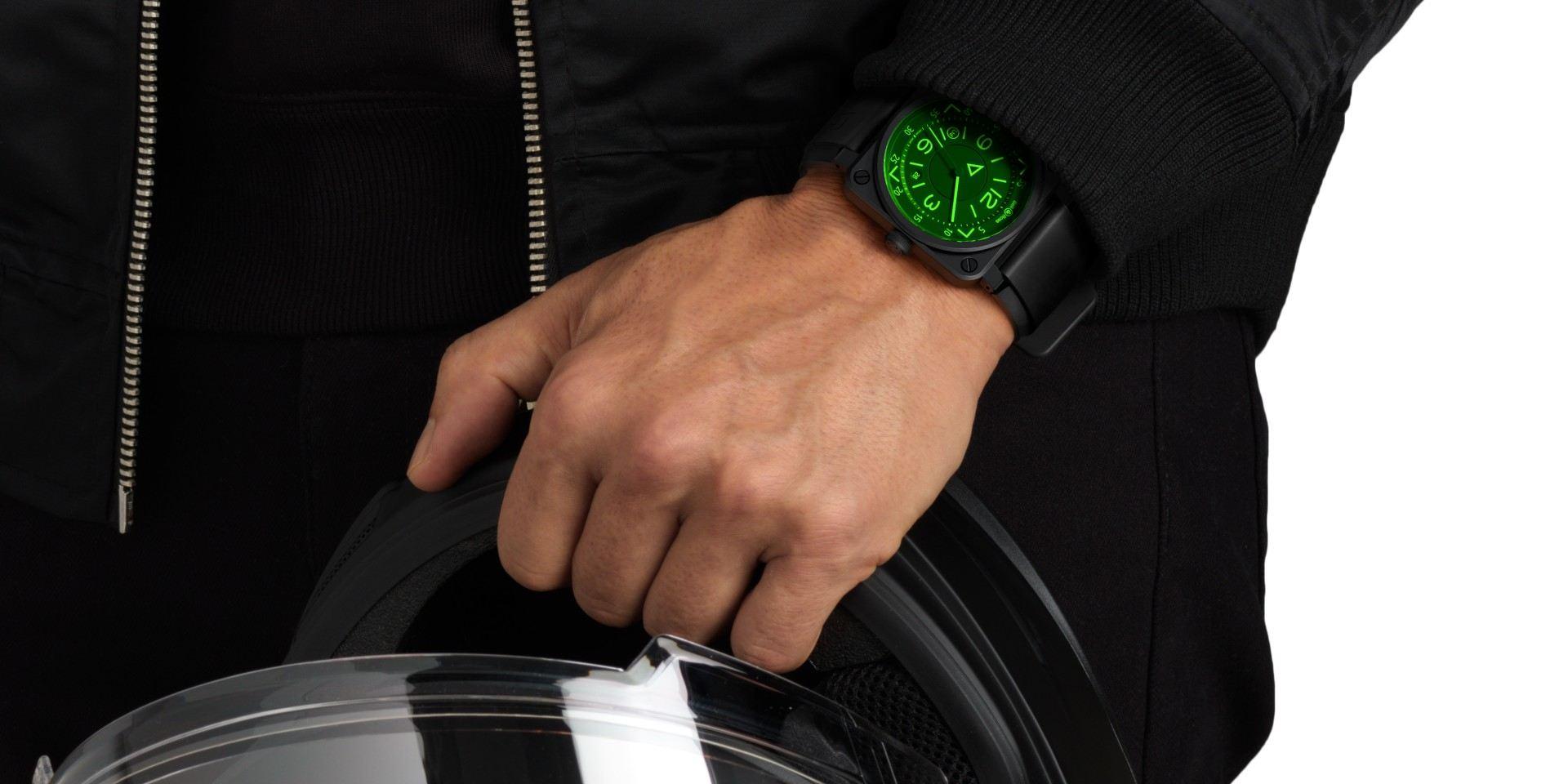【2020線上錶展】直視前方、衝上藍天:Bell & Ross BR 03-92 HUD 抬頭顯示器腕錶