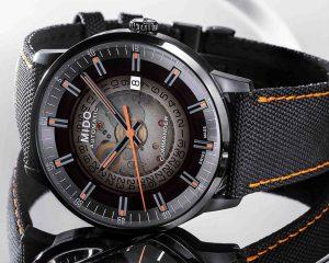 煙燻透視美學:Mido Commander Gradient 80小時腕錶