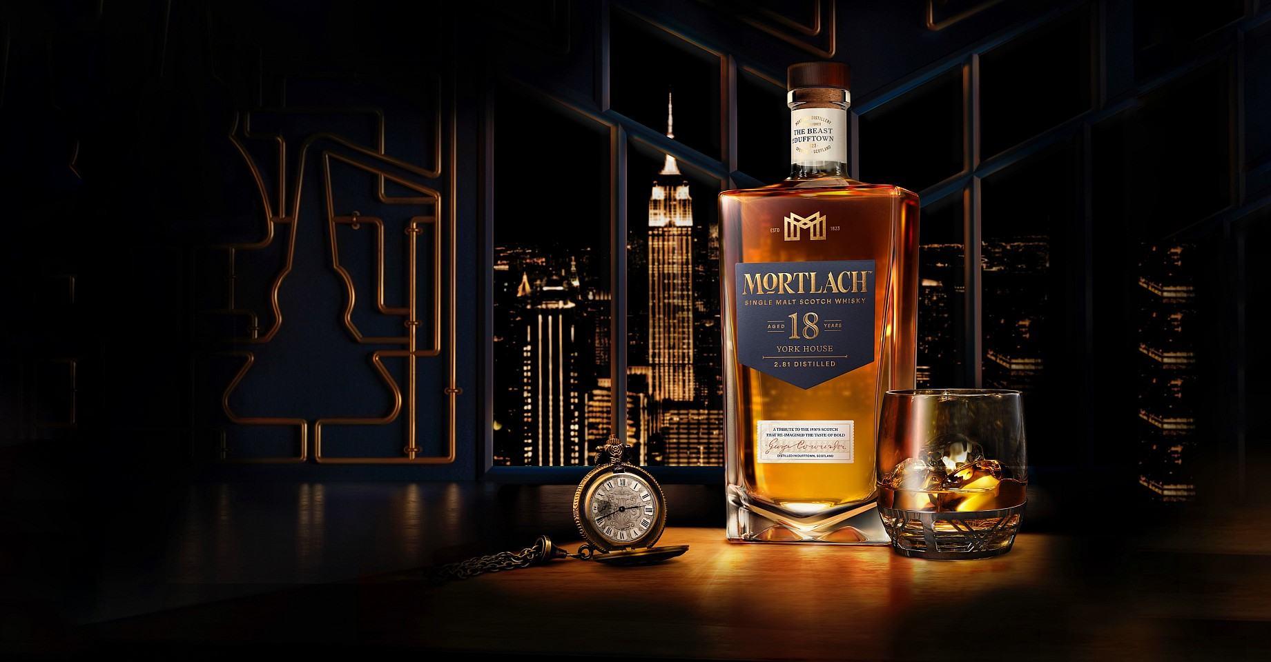 復刻「York House 酩家俱樂部」的醇厚馥郁與細緻甜美:慕赫2.81- 18年單一麥芽威士忌