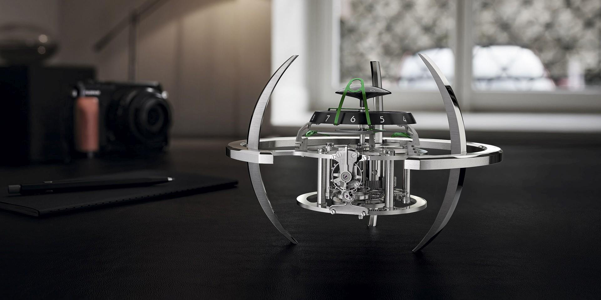 MB&F + L'Epée 1839之星際艦隊座鐘系列推出全新Starfleet Explorer星際探險家版本