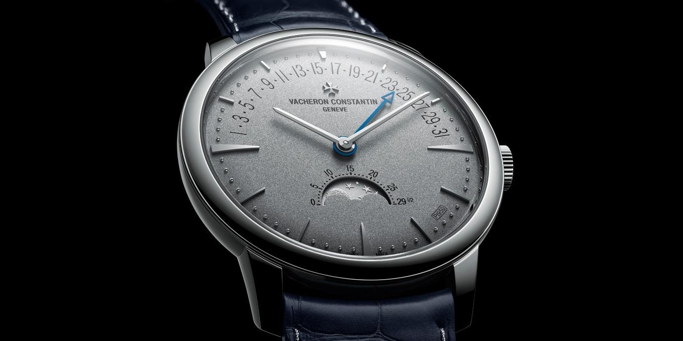 【2020線上錶展】低調奢華:江詩丹頓Patrimony月相和逆跳日曆腕錶鉑金珍藏版