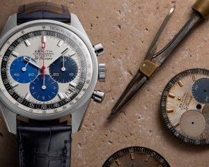 再現原型樣貌:Zenith Chronomaster系列工坊復刻版腕錶