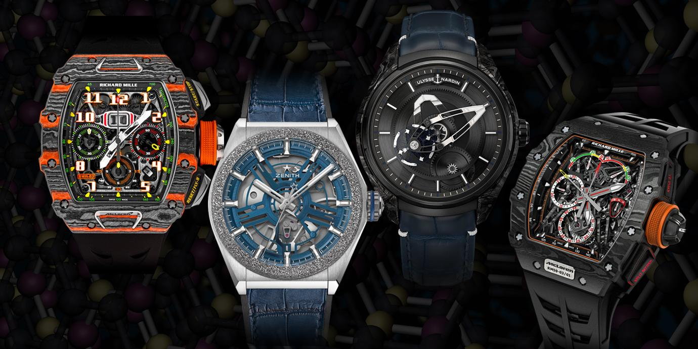 特殊材質錶殼:輕盈無極限(下)