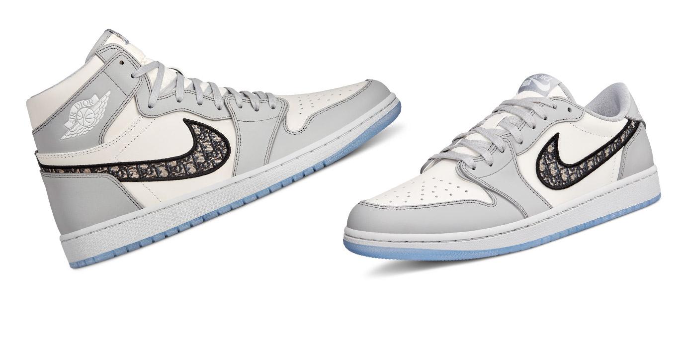 這夏潮翻了:Air Jordan X Dior聯名球鞋