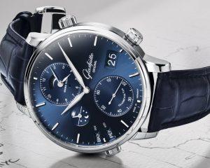 以德製工藝看世界:Glashütte Original參議員世界時間腕錶