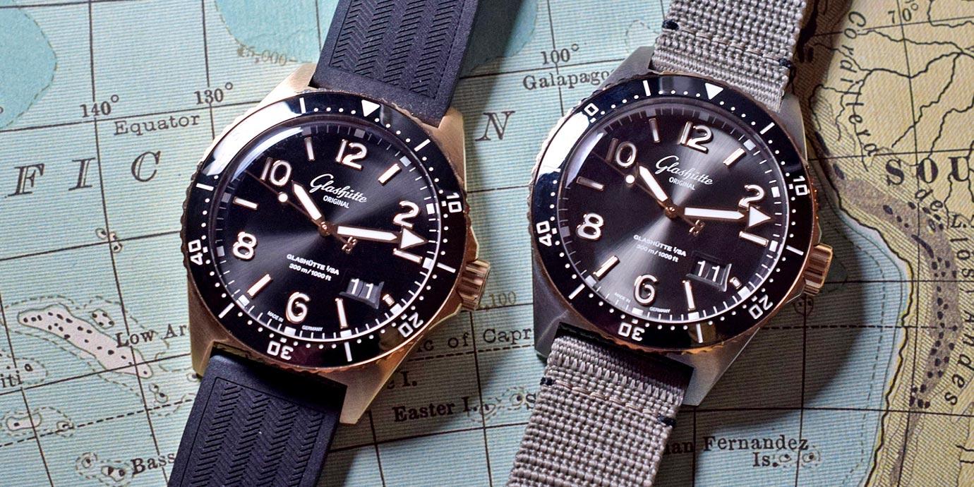【每週一錶】尊貴新裝:格拉蘇蒂原創SeaQ Panorama Date大日曆潛水錶