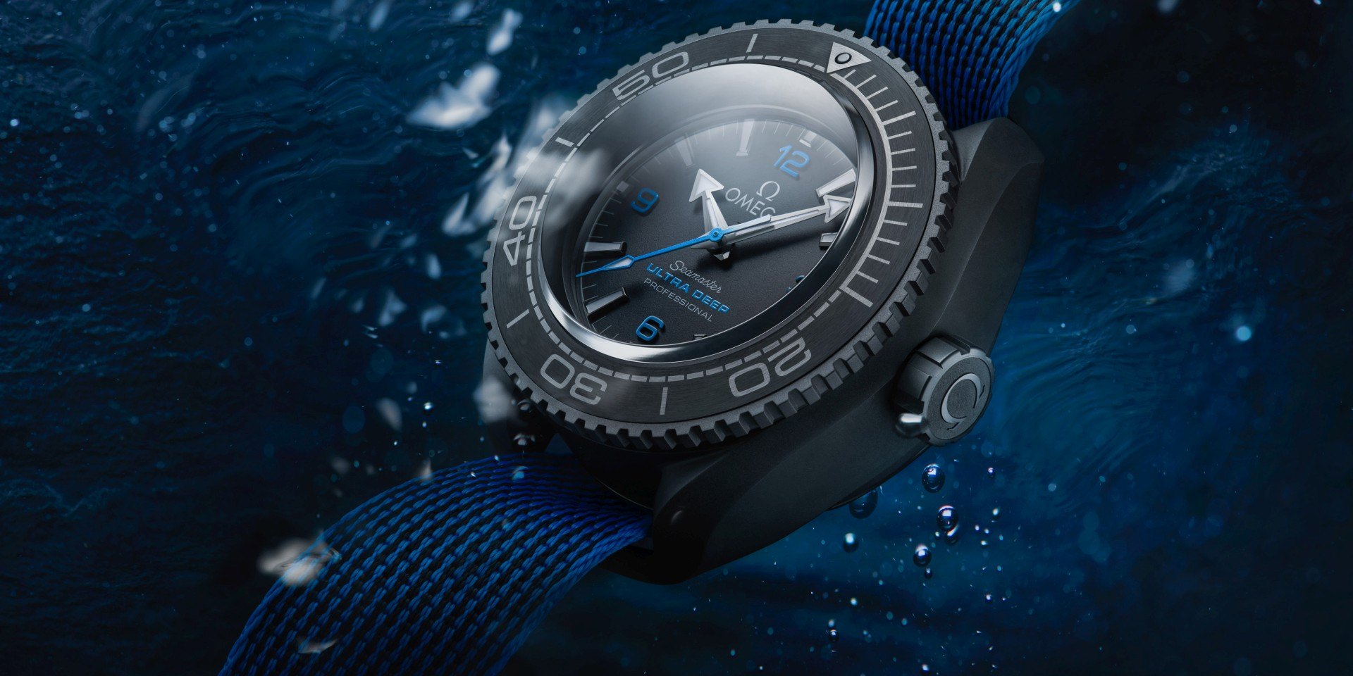 潛至世界最深處10,928米的腕錶:歐米茄海馬Planet Ocean Ultra Deep Professional腕錶
