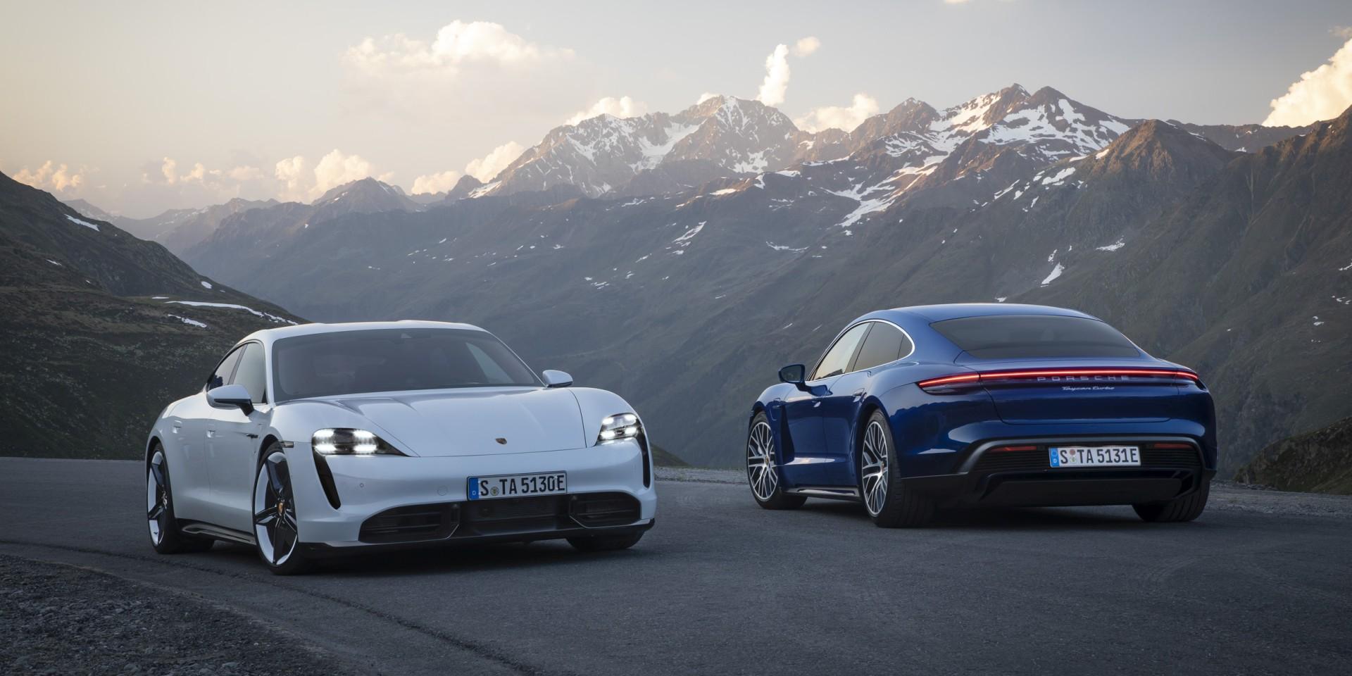 入主保時捷首款純電跑車僅需473萬元起,Porsche Taycan預售價出爐