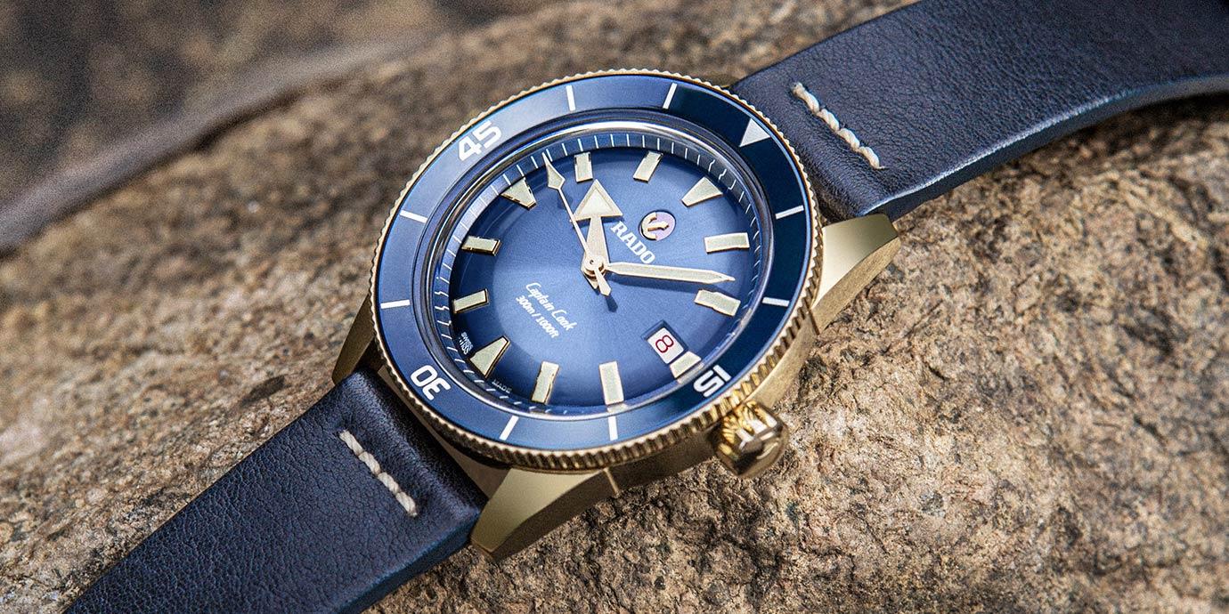 呈現夏日藍調之美:精選Rado藍面腕錶