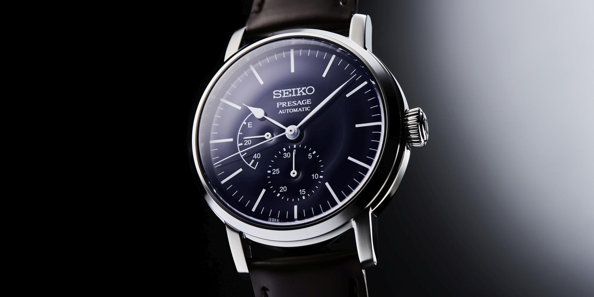 極簡風格完美詮釋日本一代設計理念:Seiko 《Presage X 渡邊力》琺瑯錶