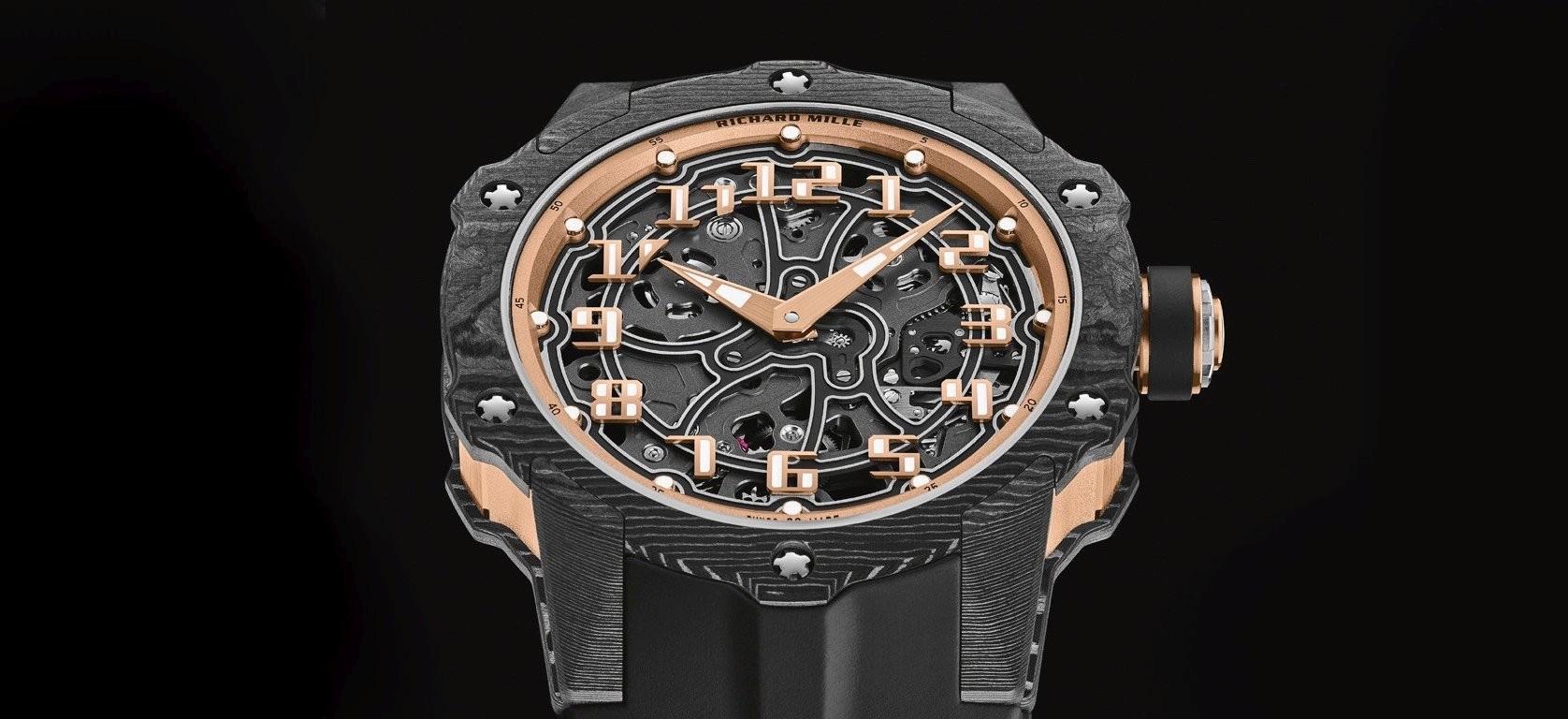 時尚與運動風格的完美交融:RICHARD MILLE RM 33-02自動上鍊腕錶