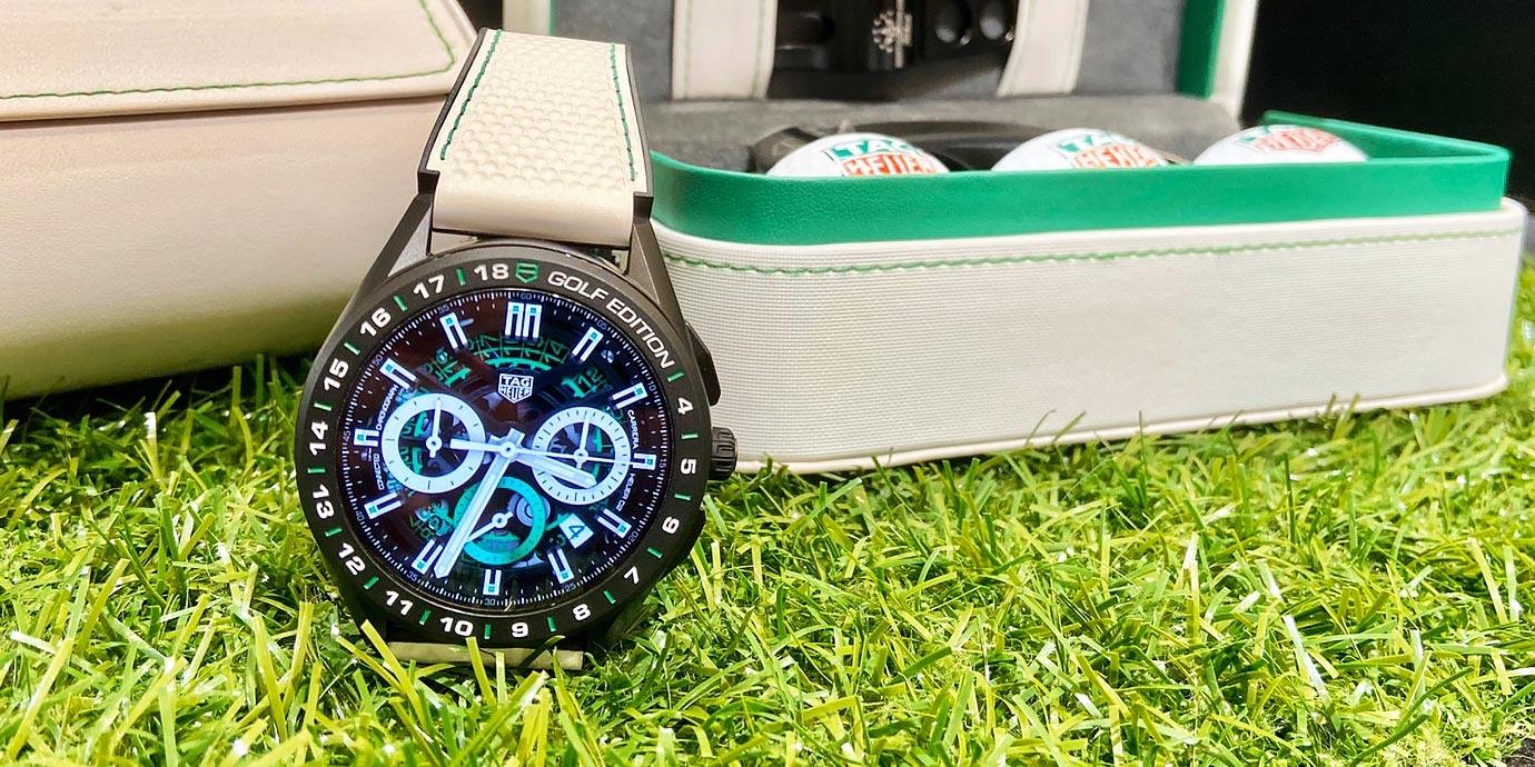小白球中毒者必備:TAG Heuer Connected高爾夫球特別版智能腕錶