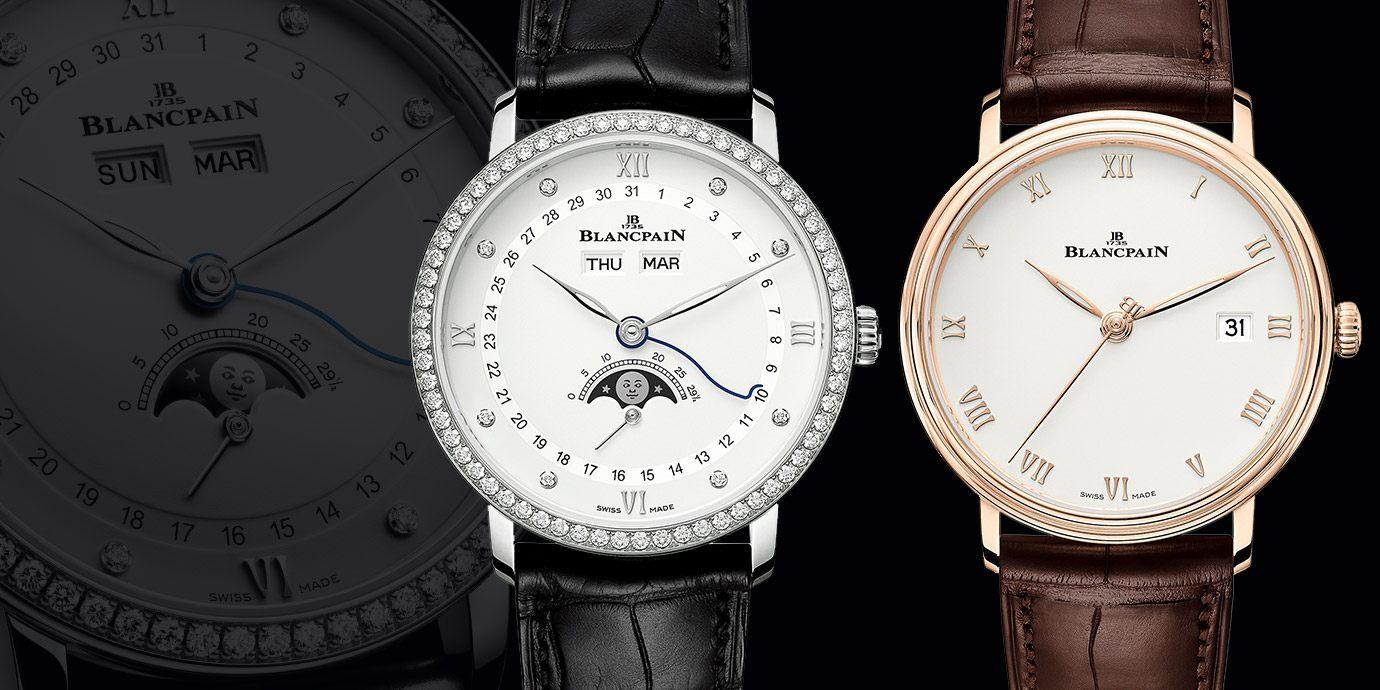 【2020線上錶展】寶珀呈獻Villeret Quantième Complet全日曆月相腕錶及Villeret Ultraplate 超薄腕錶