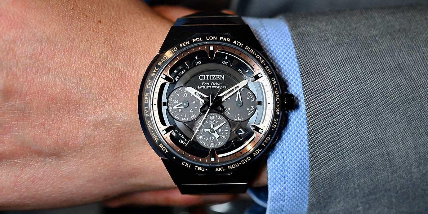 台灣限量兩只:CITIZEN鈦金屬科技50週年旗艦紀念腕錶