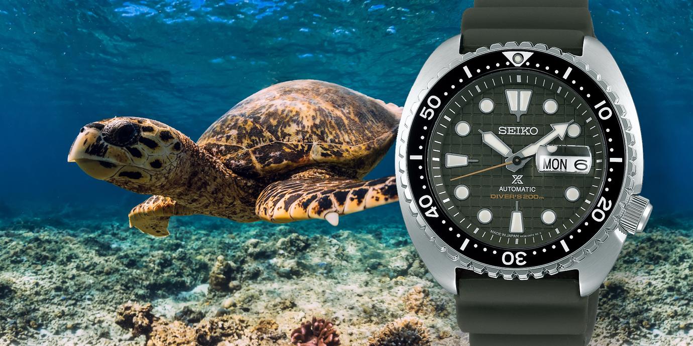 【鐘錶大哉問】為什麼Seiko的潛水錶有「海龜」的暱稱?