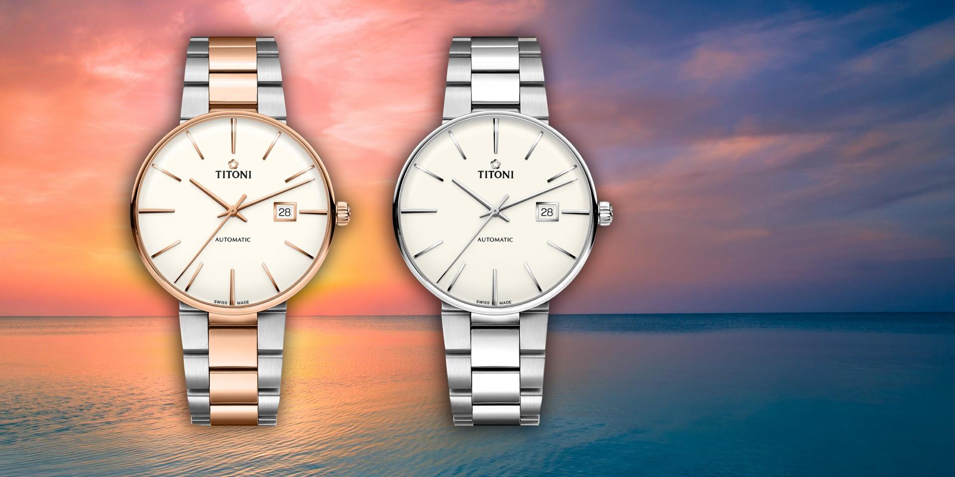 大無邊際,盡享無垠之美:TITONI瑞士梅花錶空中霸王Big Opening 嶄新上市