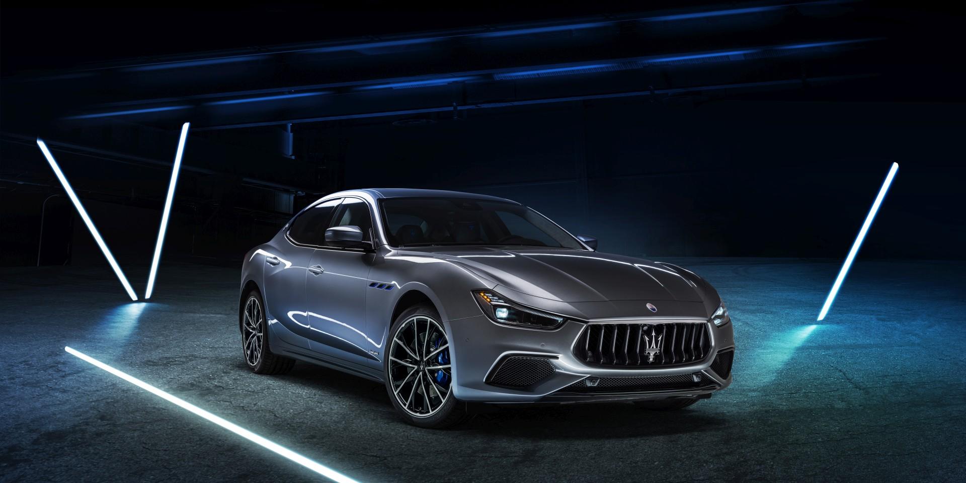 引燃,傳奇再續 :Maserati Ghibli Hybrid 馭風電掣 正式亮相
