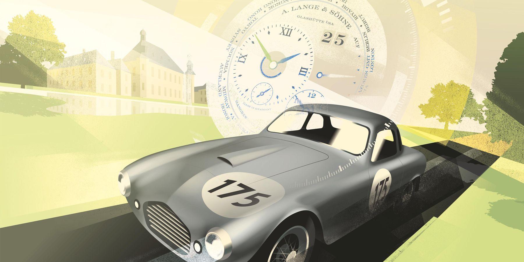 朗格 x Concours Virtual:襄助聯合國兒童基金會的經典汽車比賽