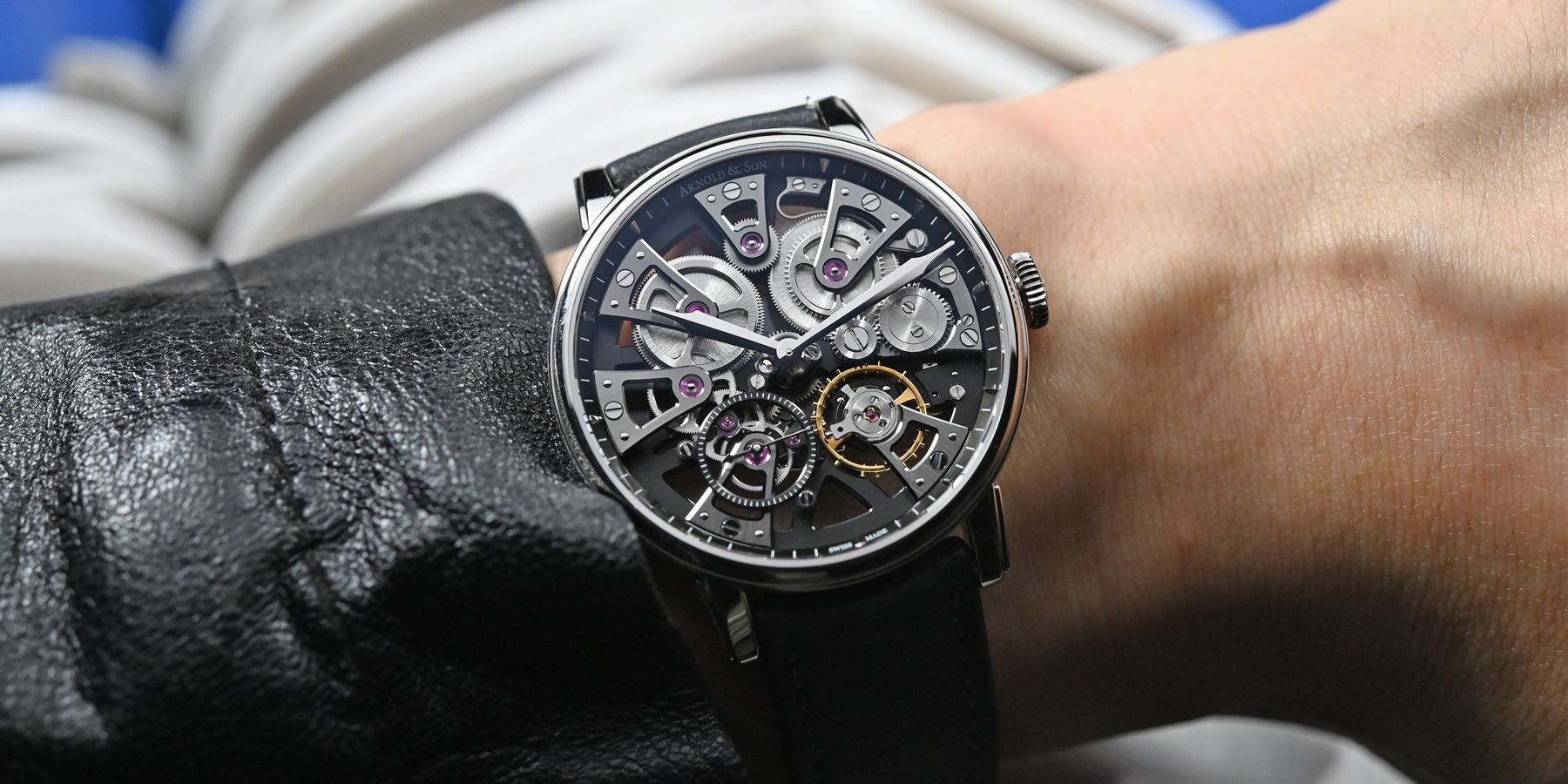 【每週一錶】恰到好處的美學:Arnold & Son Nebula 38腕錶