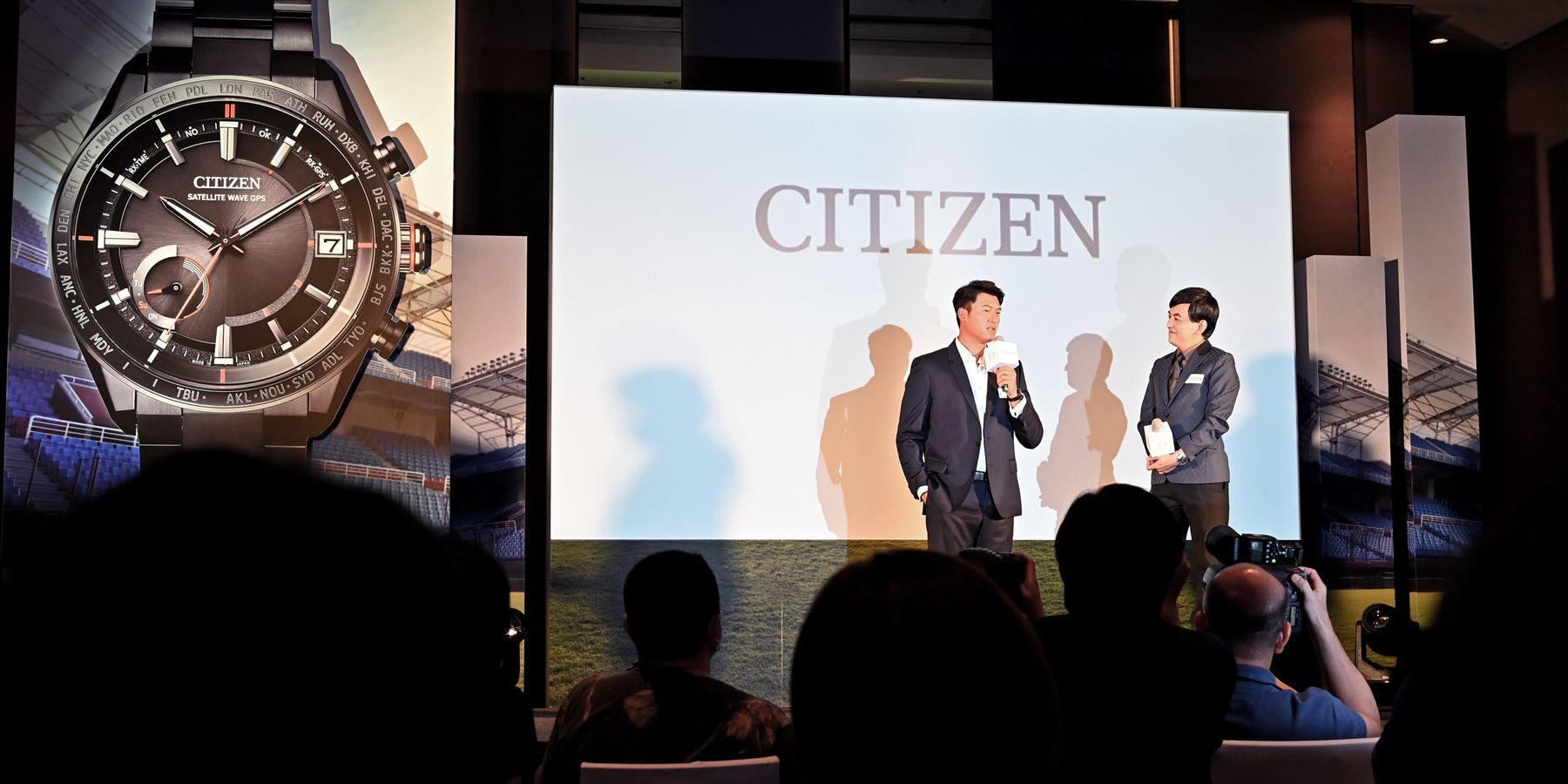 當台灣之光掌握時間:CITIZEN全新品牌代言人 王建民