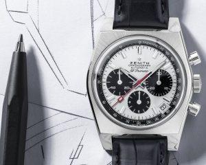 致敬70年代美好的紳士品味:真力時Chronomaster 系列復刻版A384 Revival腕錶