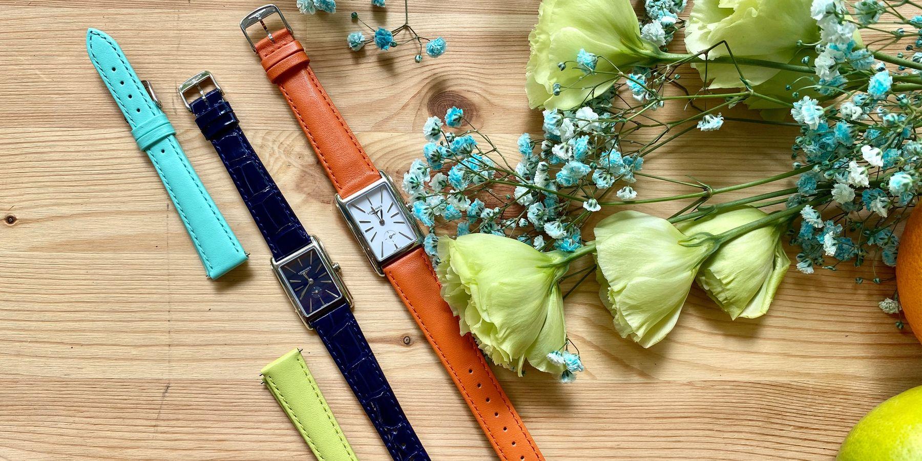 美好生活幾種色彩?浪琴DolceVita全新錶款的繽紛樣貌